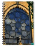 Stain Glass Church Window Spiral Notebook