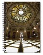 Stain Glass Rotunda Spiral Notebook