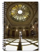 Stain Glass Rotunda Spiral Notebook