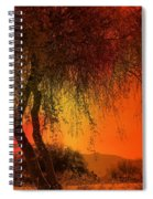 Stained By The Sunset Spiral Notebook