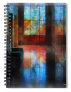 Stained Glass 01 Photo Art Spiral Notebook
