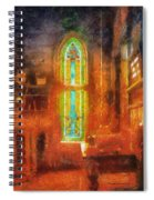 Stained Glass 05 Photo Art Spiral Notebook