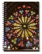 Stained Glass Details Spiral Notebook