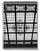 Stained Glass Hoboken Terminal Spiral Notebook