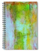 Stained Glass Houses Spiral Notebook