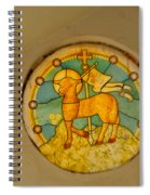 Stained Glass In Colva Spiral Notebook