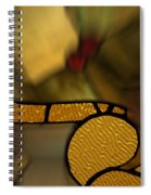 Stained Glass Lc 02 Spiral Notebook