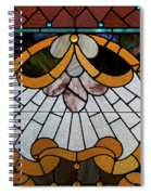 Stained Glass Lc 09 Spiral Notebook