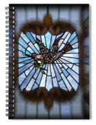 Stained Glass Lc 13 Spiral Notebook