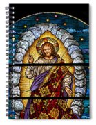 Stained Glass Pc 03 Spiral Notebook