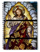 Stained Glass Pc 04 Spiral Notebook