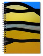 Stained Glass Scenery 3 Spiral Notebook