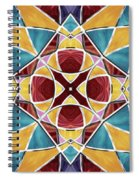 Stained Glass Window 5 Spiral Notebook