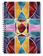 Stained Glass Window Spiral Notebook