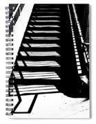 Stair Shadow Spiral Notebook