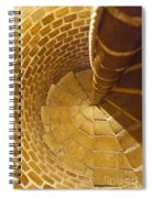 Staircase In Stone Spiral Notebook
