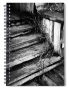 Stairing Taken Over By Time Spiral Notebook