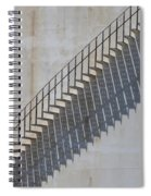 Stairs And Shadows 1 Spiral Notebook