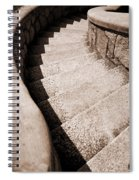Stairs At Maymont Spiral Notebook