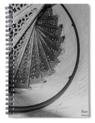 Stairs At The Fort Gratiot Light House Spiral Notebook