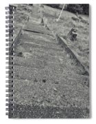 Stairs In The Cemetary Spiral Notebook
