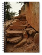Stairs In The Desert Spiral Notebook