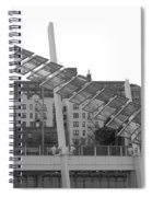 Stairs In The Sky In Black And White Spiral Notebook
