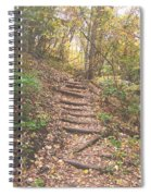 Stairs Into The Forest Spiral Notebook