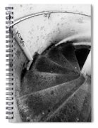 Stairs Leading Downward Into The Catacombs Of Paris France Spiral Notebook