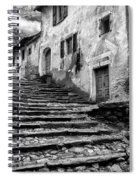 Stairs To Lavertezzo Spiral Notebook