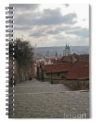 Stairs To Prague Spiral Notebook