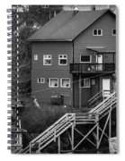 Stairs Up To Home Spiral Notebook