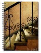 Stairs With Ornamented Handrail Spiral Notebook