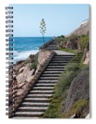 Stairway And Agave On Top. Spiral Notebook