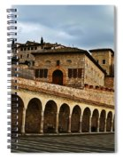 Stairway To Assissi Spiral Notebook