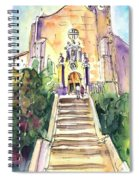 Stairway To Heaven In Llansa Spiral Notebook