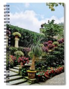 Stairway To Isola Bella Spiral Notebook