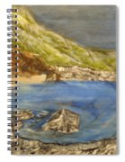 Stairway To The Beach Spiral Notebook
