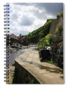 Staithes Harbour Spiral Notebook