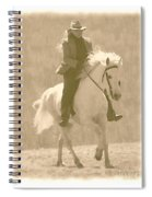Stallion Strides Spiral Notebook