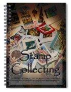 Stamp Colleting Spiral Notebook