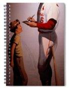 Stan Musial Mural Spiral Notebook