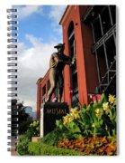 Stan Musial Statue Spiral Notebook