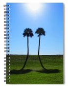 Stand By Me - Palm Tree Art By Sharon Cummings Spiral Notebook