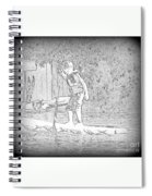 Stand Up Paddle  Spiral Notebook