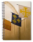 Standards Of The Knights Of The Templar Spiral Notebook