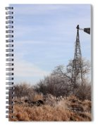Standing Alone Spiral Notebook
