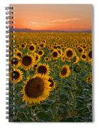 Standing At Attention Spiral Notebook