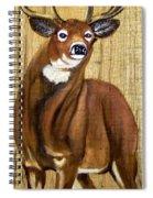 Standing Buck Spiral Notebook