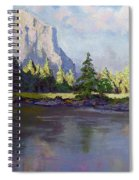Standing Guard Over Yosemite Valley Spiral Notebook